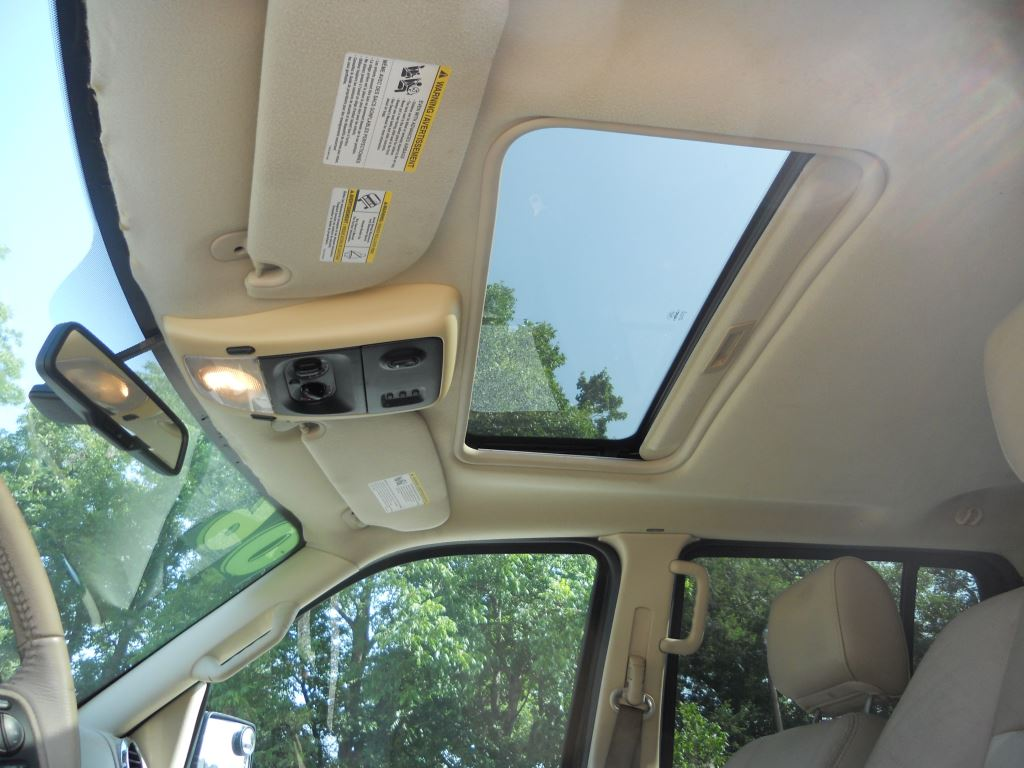 Sunroof, Rear climate control